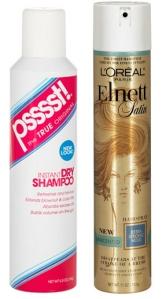Psssst! dry shampoo